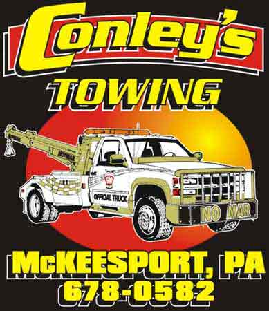 image | Conley's Towing Service McKeesport, PA Custom T shirt